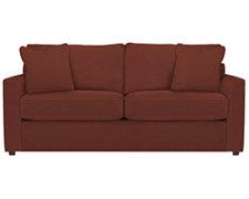 Express3 Red Microfiber Sofa