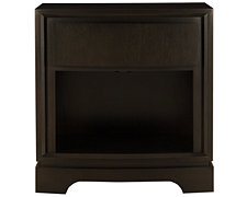 Wave Dark Tone Nightstand