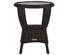 Java Dark Tone Round End Table