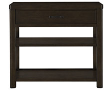 Forecast Dark Tone Wood Nightstand