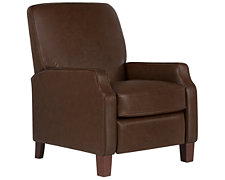 Rhett Md Brown Bonded Leather Recliner
