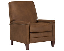 Tripp Lt Brown Microfiber Recliner