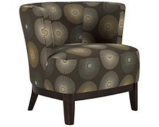 Aldo Multi Fabric Accent Chair