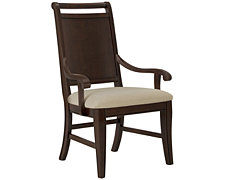 Canyon Mid Tone Wood Arm Chair