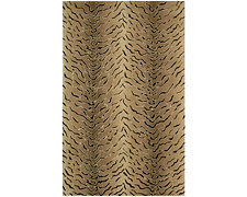 Zebra Brown 8X10 Area Rug