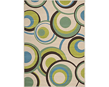 Lounge Multi 8X10 Area Rug