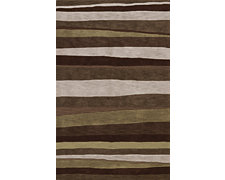 Kiwi Brown 5X8 Area Rug