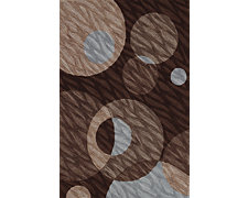 Roe Brown 5X8 Area Rug