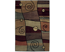 Percussion Multi 5X8 Area Rug