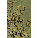 Lt Green 5X8 Area Rug