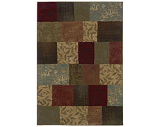 Patchwork Multi 5X8 Area Rug