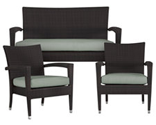 Zen2 Teal Outdoor Living Room Set