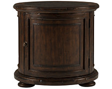 Marquis Dark Tone Storage End Table