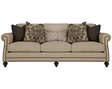 Brae Lt Brown Fabric Sofa
