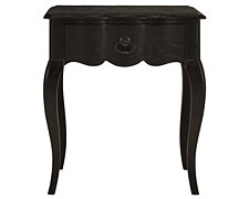 Belgian Oak Dark Tone Small Drawer Nightstand