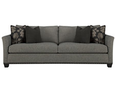 Manhattan Dk Gray Fabric Sofa