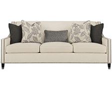 Palisades Lt Beige Fabric Sofa