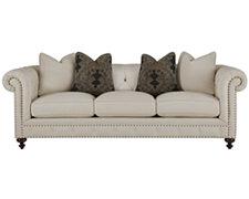 Riviera Lt Beige Fabric Small Sofa