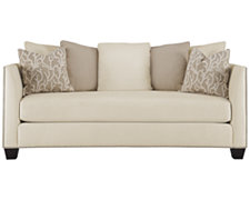 Briget Beige Fabric Sofa
