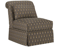 Farrah Dk Gray Fabric Accent Chair