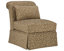 Farrah Lt Taupe Fabric Accent Chair