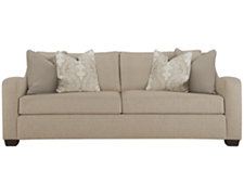 Lorna Beige Fabric Sofa