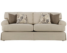 Lila Beige Fabric Sofa