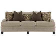 Tarleton Taupe Fabric Sofa