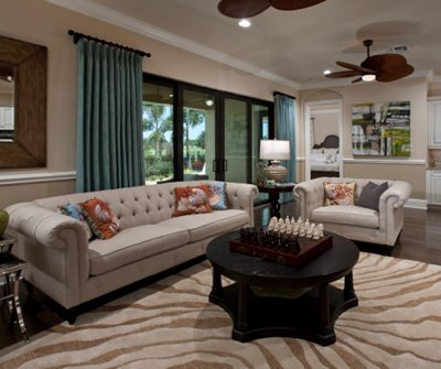 Model home furniture pictures