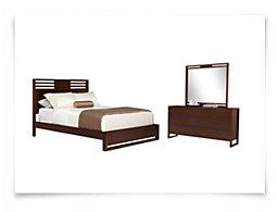 Tahoe2 Mid Tone Platform Bedroom