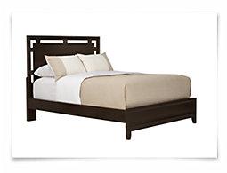 Ridgeway Dark Tone Platform Bed