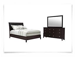 Ivy Dark Tone Platform Bedroom