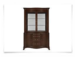 Avalon Dark Tone China Cabinet