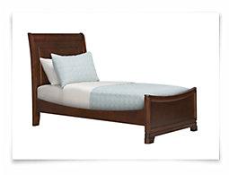 Kaya Mid Tone Sleigh Bed