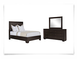 Adele2 Dark Tone Platform Bedroom