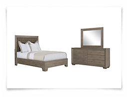 Adele2 Light Tone Platform Bedroom