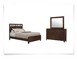 Andora Mid Tone Panel Bedroom