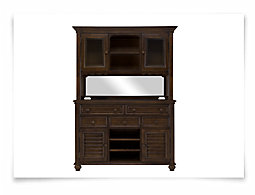 Claire Dark Tone China Cabinet