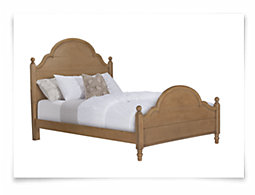 Wendy Mid Tone Poster Bed