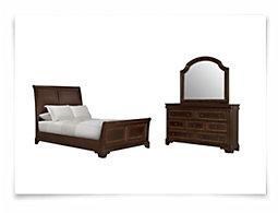 Michael Mid Tone Sleigh Bedroom
