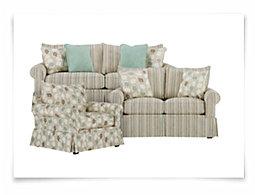 Lydia Multi Stripe Living Room