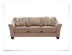 Grant2 Lt Brown Microfiber Sofa