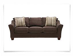 Grant2 Dk Brown Microfiber Sofa