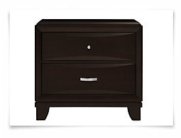 Torino Dark Tone Drawer Nightstand