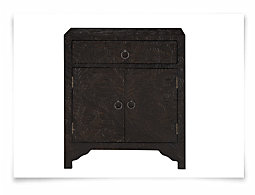 Manu Black Accent Chest