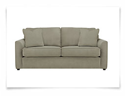 Express3 Lt Green Microfiber Sofa