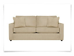 Express3 Lt Beige Microfiber Sofa