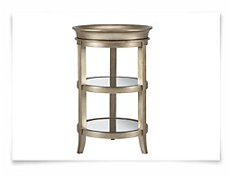 Astrid Gold Tray Table