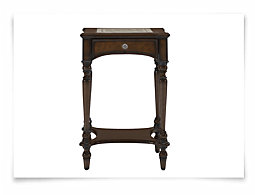 Catalonia Dark Tone Small Accent Table