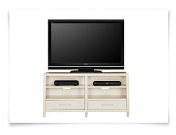 "Carolina White 60"" TV Stand"